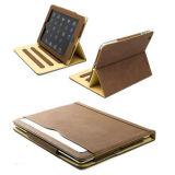 Geschäfts-Mappen-Deckel-weiche lederne Apple-iPad2/3/4 Anti-Schlagen Schlaf-Kasten leicht