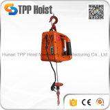 тракция веревочки поднимаясь провода малого размера 220V/50Hz 500kg портативная