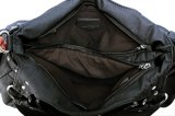 Bolsa lavada de 2017 senhoras de saco do ombro do Zipper da venda 3 saco dianteiro quente