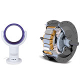 12 Zoll-beweglicher schwanzloser Bewegungsventilator-elektrischer blattloser Kühlventilator