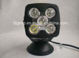高い発電10W*5PCSのクリー族LED作業ライト5inch
