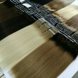 호화스러운 브라질 사람의 모발 연장, Ombre 새로운 색깔 씨실, 매끄러운 직모 Remy 사람의 모발 금발 색깔 머리