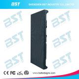 Schermo locativo 1r1g1b della parete della fase esterna LED di SMD il video di alluminio l'indicatore luminoso HD P6.25 della pressofusione ultra