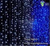 Luz de la cortina de la decoración LED del día de fiesta de la Navidad del OEM