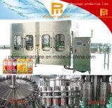 Автоматические пластичные завалка бутылки и машина запечатывания для сока