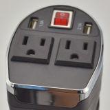 Bewegliche Wechselstrom-Inverter mit der USB Aufladung