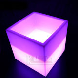 LED Cube Table / Table d'éclairage élégante / Leisure Shining Table Cube Ice Bucket