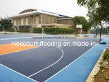 Geen Met elkaar verbindende Vloer van het Hof van het Basketbal van de Geur voor Stadion en Binnenplaats