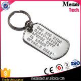Apri di bottiglia inciso nichelato su ordinazione del metallo di marchio Keychain