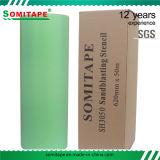 SomiテープSh3025はサンドブラスティングの保護のための砂吹きの石造りのビニールをきれい除去する
