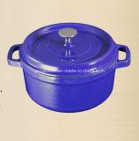 2.5Lエナメルの鋳鉄のダッチオーブンの製造業者Dia 20cm