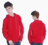 Hoodies der Frauen und der Männer beiläufiger langer Hülsen-Pullover-Mantel