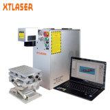 Machine d'inscription de laser de fibre des prix d'agent pour des objets de produits en métal