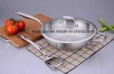 18/10 Wok Cookware нержавеющей стали китайских варя сковороду (SX-WO32-10)