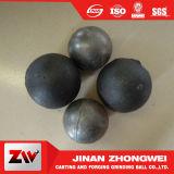 17-150 la alta calidad del milímetro forjó las bolas de pulido del molde para la explotación minera