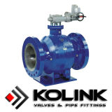 Perno di articolazione Mounted Ball Valve, api 6D, PED/Ce Certificated