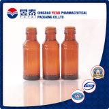 Schoonheidsmiddel die de Zwarte Fles van het Glas van de Essentiële Olie verpakken