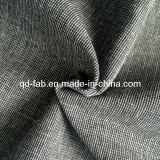 Tela teñida del hilado de lino del algodón (QF13-0735)