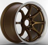 Алюминий снабжает ободком колесо сплава Advan Ce28 лучей Adv для автомобиля