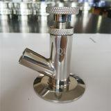 Válvula de la muestra del acero inoxidable de la categoría alimenticia