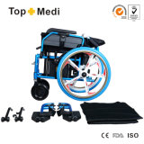 Topmedi Arzneigesundheits-Mittel, die elektrischer Strom-Rollstuhl für Erwachsene falten