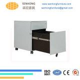 Шкаф для картотеки постамента стального металла офиса подвижной с ящиками