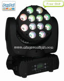 12*10W 크리 말 LED Moving Head Beam Stage Lighting (YS-213)