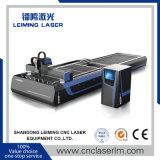 Machine de découpage de laser de fibre de Tableau de la navette Lm4020A3 pour des militaires