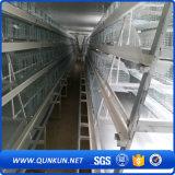 De hete Ondergedompelde Gegalvaniseerde Kooi van de Laag van het Ei van het Gevogelte met de Omheining van de Fabriek