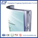 Rectángulo-ARB ligero retroiluminado de aluminio del acrílico LED