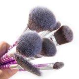 Nuevo diseño 8PCS conjunto de cepillo de maquillaje funcional con las más nuevas esponjas de silicona
