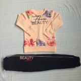 Winter-Vlies scherzt Mädchen-Sport-Klage-Kleidung in den Kindern 's-Kleid Sq-6211