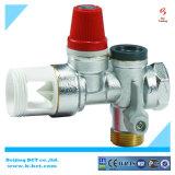 Soupape de sûreté en laiton de matrials, couleur argentée, couleur en métal, régulateur BCTSV03 1.5-8Bar de gaz de couleur de Nicel