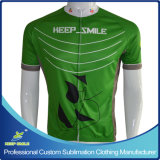 Kundenspezifische Digital Sublimation Printing Cycling Jersey für Cycling Wear