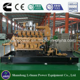 Prix de générateur de centrale de gaz du kilowatt MW ou de gaz naturel