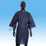 Lonog jetable Sleeve Nonwoven Isolation Gown pour Casualty Wards
