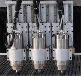Doppeltes Spindel CNC-Holz, das Maschinerie mit Cer Cetificate schnitzt
