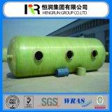 Alta calidad bajo precio GRP tanque de agua / aceite / Química Almacenamiento