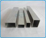 Pipes rectangulaires d'acier inoxydable pour des traitements