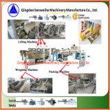 Máquina automática do peso e de empacotamento do macarronete longo seco