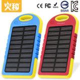 Bancos de energia solar de 4000mAh para celular portátil com saída dupla