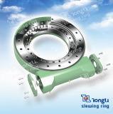 Máquina pesada Tipo cerrado Engranaje sin fin Mecanismo de giro con SGS