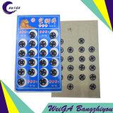 Noir élevé du bouton-poussoir 2# de Quatily de marque de lion de Huang