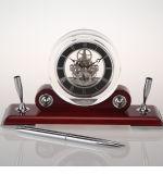 أثر قديم قلي حامل خشبيّة مكسب ساعة لأنّ مكسب