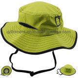 Шлем ведра рыболовства отдыха Twill хлопка способа карманный (TRBH011)