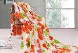 印刷された珊瑚の羊毛の寝具セット