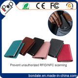 RFID преграждая алюминиевый бумажник протектора карточки