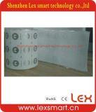 extranjero pegajoso H3 de la escritura de la etiqueta de la frecuencia ultraelevada RFID de 56*18m m ISO18000-6c