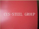 Hoja de acero del patrón del diamante / bobina de acero prepintada grabada diamante