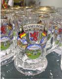 明確なガラスコップのビールのジョッキのよい価格のガラス製品のKbHn0872